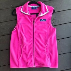 Lauren James pink prep Tec vest size small